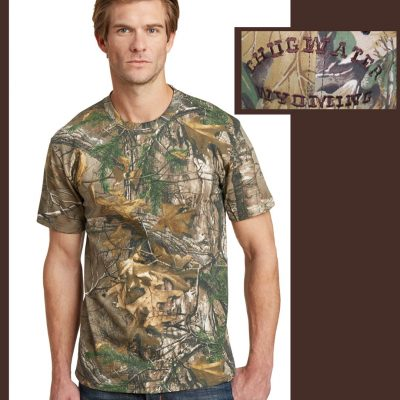 Custom Camo short sleeve t-shirt