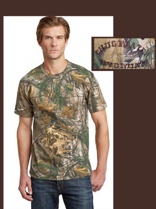 Custom Camo short sleeve t-shirt