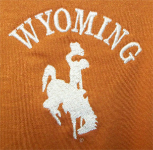 Wyoming bucking horse