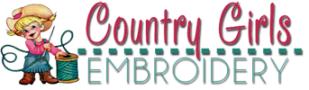 Country Girls Embroidery