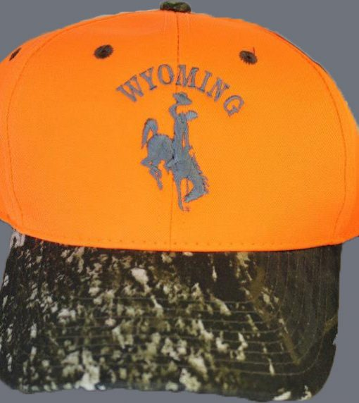 camo wyoming cap