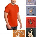 Custom 100% cotton short sleeve t-shirt