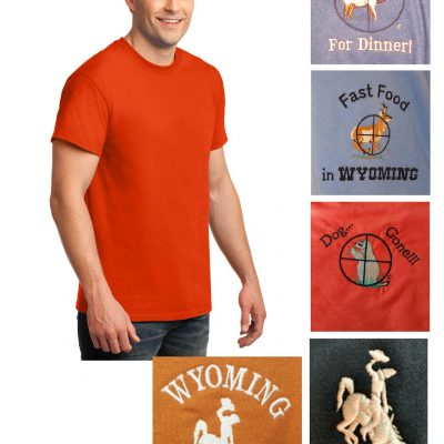 Custom 100% cotton short sleeve t-shirt
