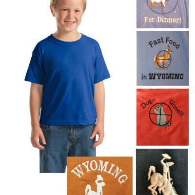 Youth custom cotton blend t-shirt