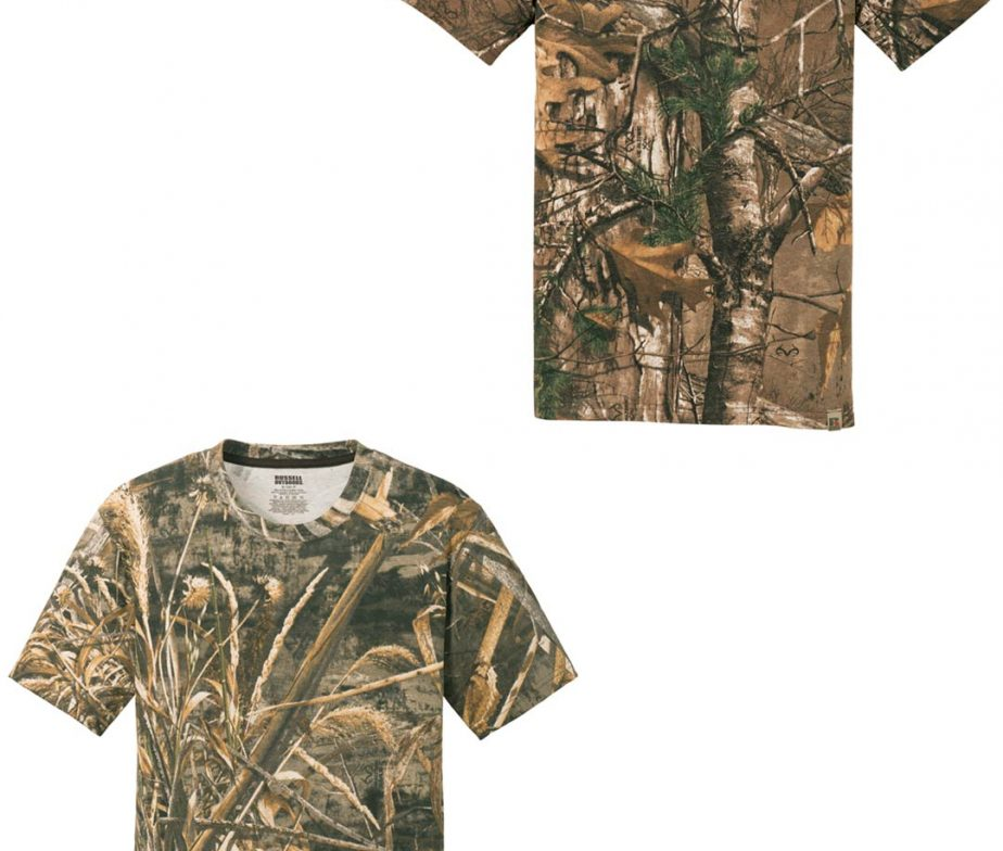 Custom Wyoming Short Sleeve Cotton Camo T Shirt Country