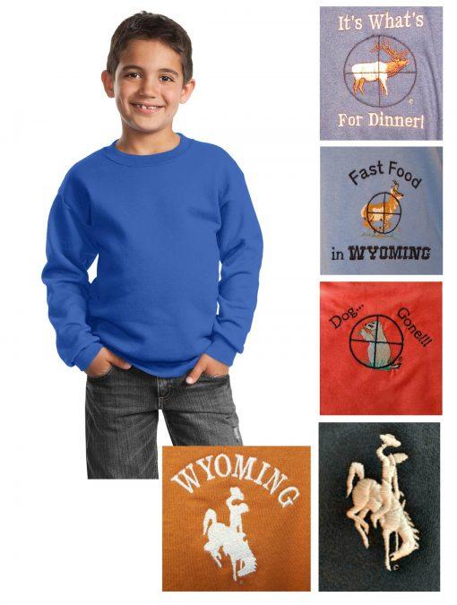 Custom youth sweatshirt