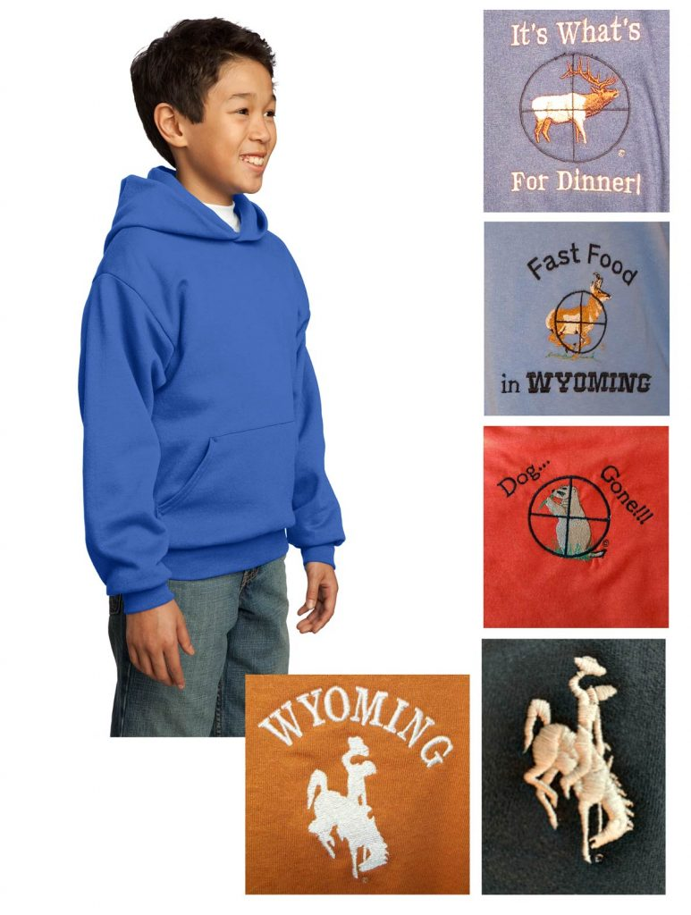 Custom youth hoodie