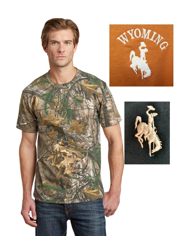 Custom Wyoming camo t-shirt