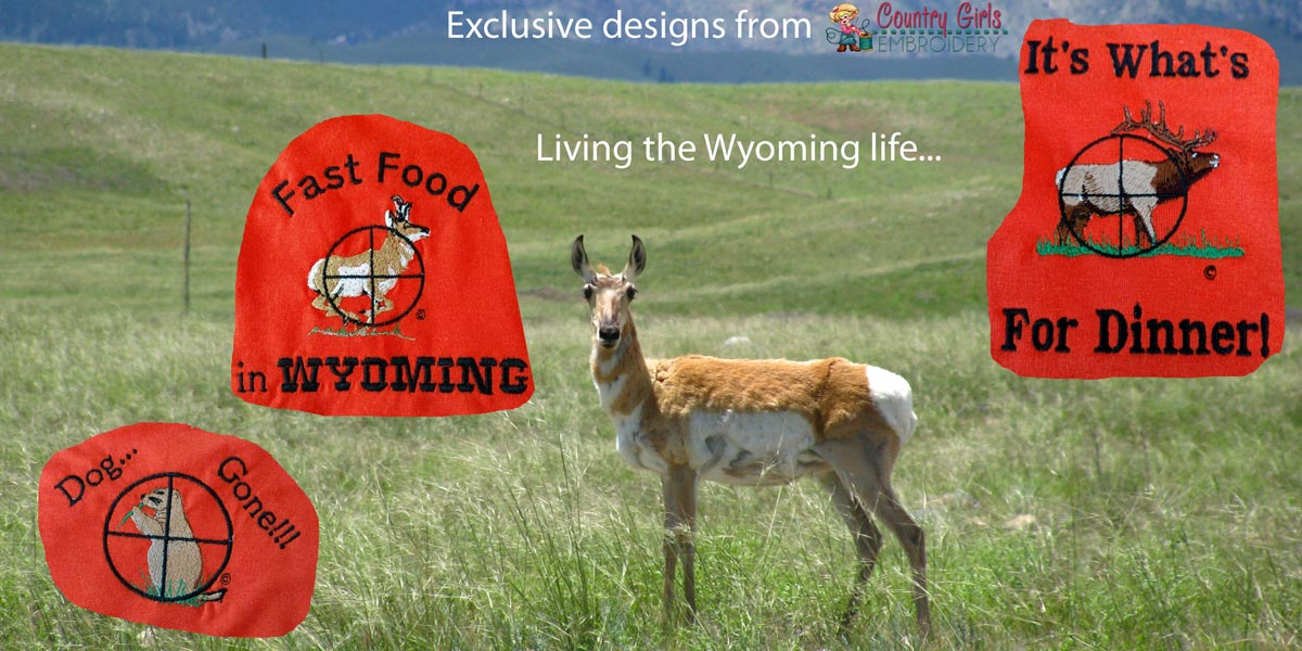 Custom hunting logos