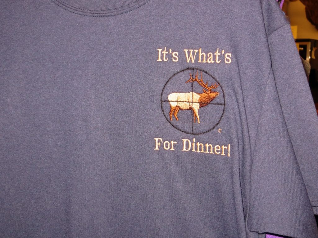 elk-its-whats-for-dinner-tee-blue