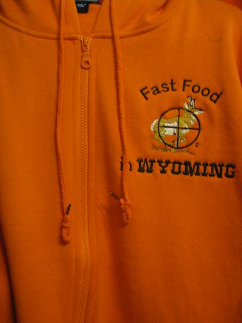 Antelop Fast Food In Wy Hoodie