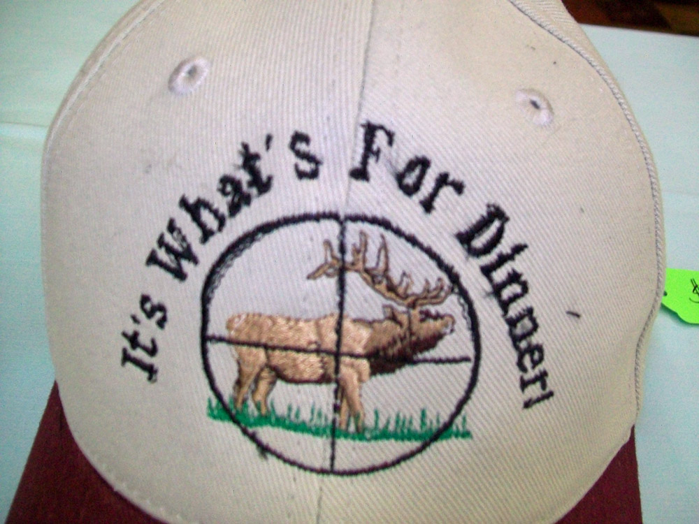 Elk Hunting Design Cap