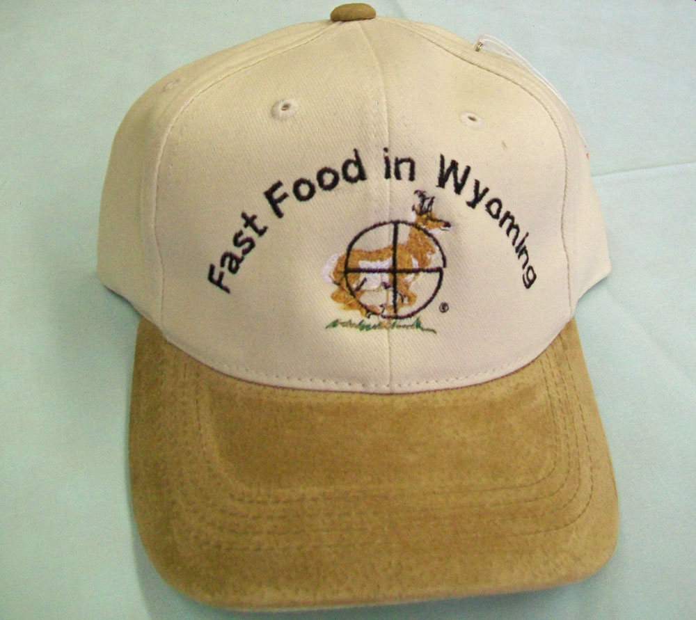 Fast Food In Wyoming Antelope Cap
