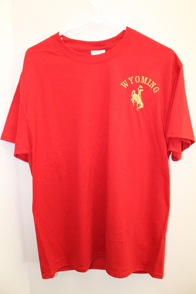 Red Wyoming T Shirt