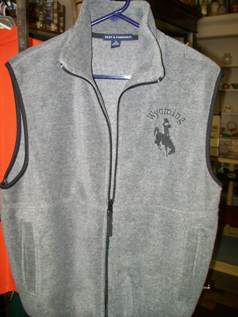 Wyoming Gray Vest