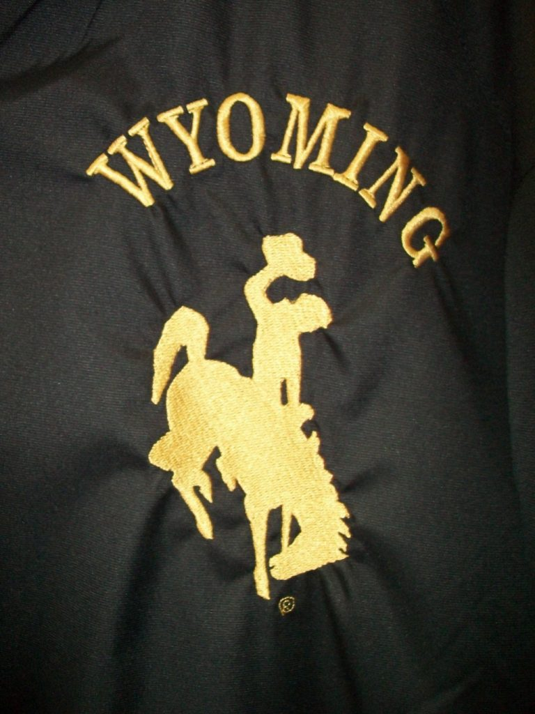 Wyoming Logo Black Gold