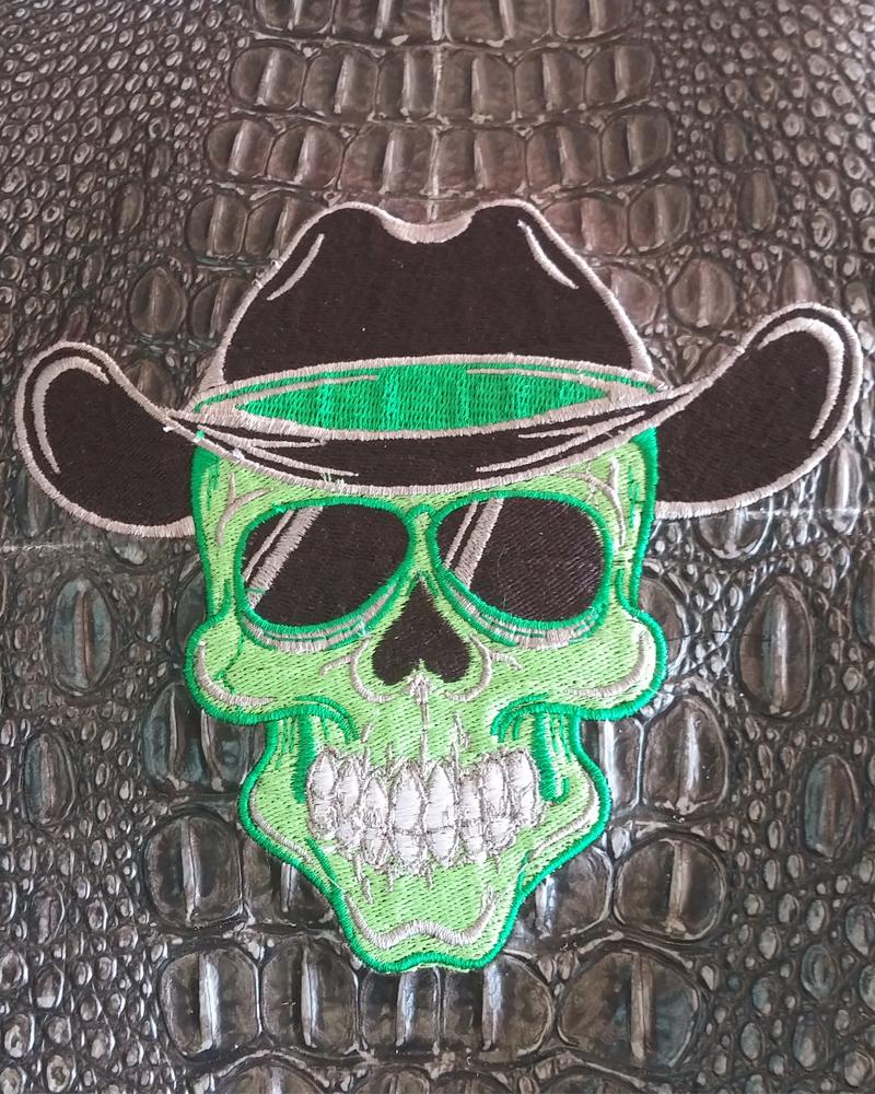 Green Skull Copy